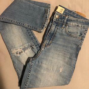 Hollister highrise skinny jeans